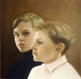 portraits - the artists sons by leah kristin dahlgren