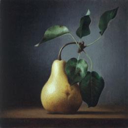 "fine art prints for sale: still life print \""Pear\"" by Leah Kristin Dahlgren"